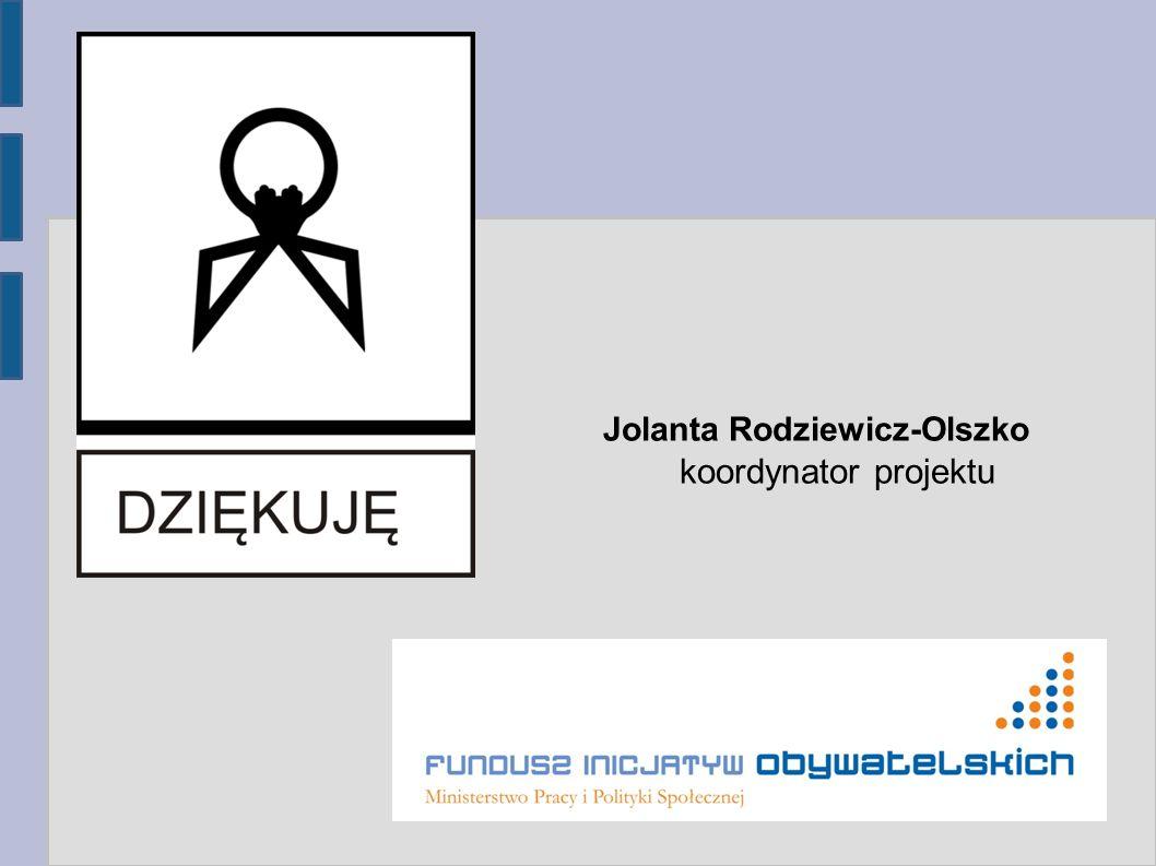 Jolanta Rodziewicz-Olszko koordynator projektu