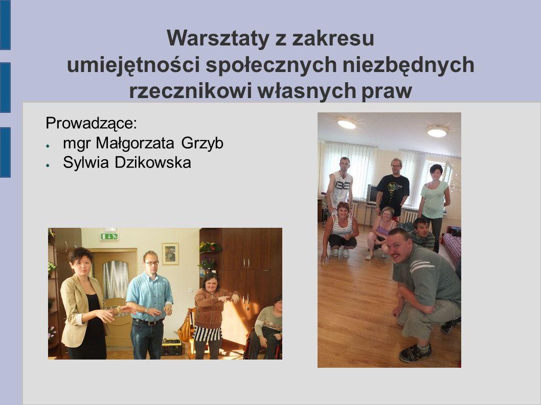 W trakcie warsztatów uczestnicy m.in.: zdobywali wiedzę z zakresu rozwijania kompetencji społecznych, umiejętności publicznego występowania i dyskutowania, kształtowali postawy asertywne, dyskutowali nt.