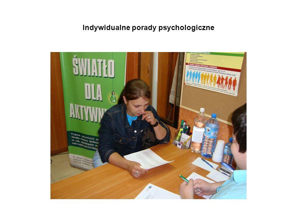 Indywidualne porady psychologiczne