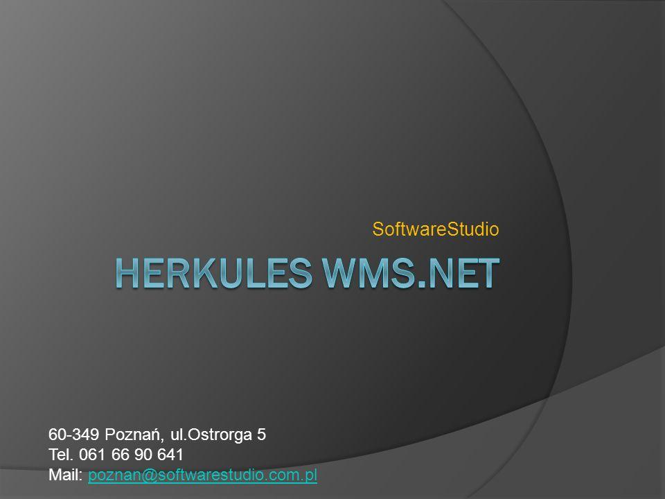 Wstęp Aplikacja WMS przeznaczona jest do zarządzania magazynem wysokiego składowania.