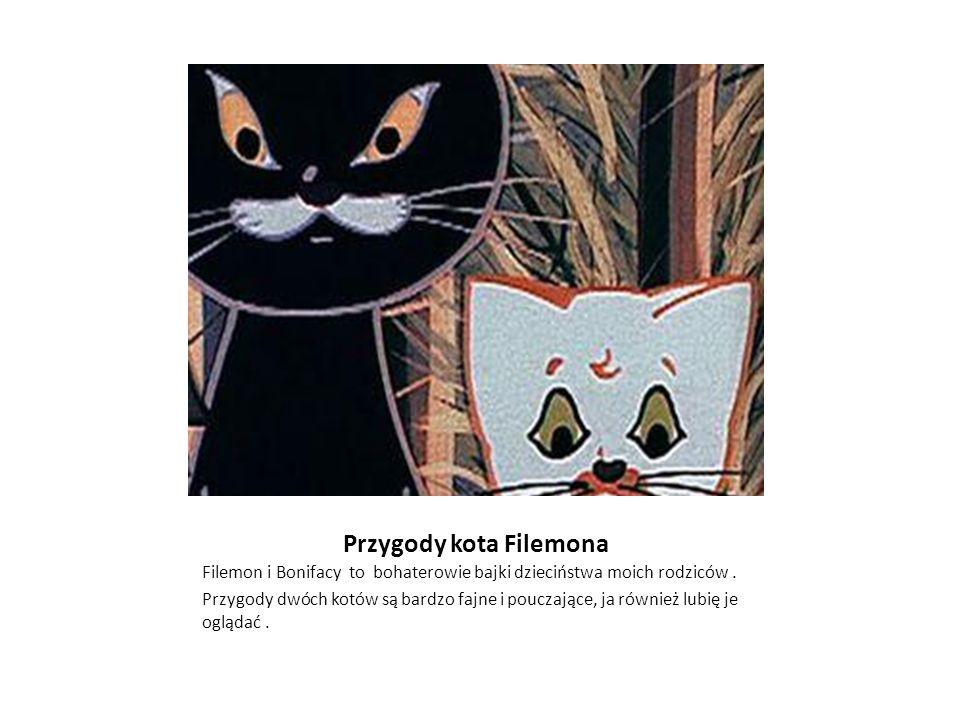 Przygody kota Filemona Filemon i Bonifacy to bohaterowie bajki dzieciństwa moich rodziców.
