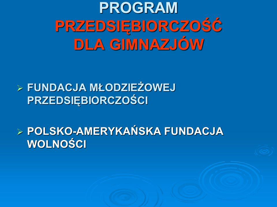 PROGRAM W OPINII NAUCZYCIELI Program częściowo realizujemy na lekcjach wychowawczych i wiedzy o społeczeństwie.