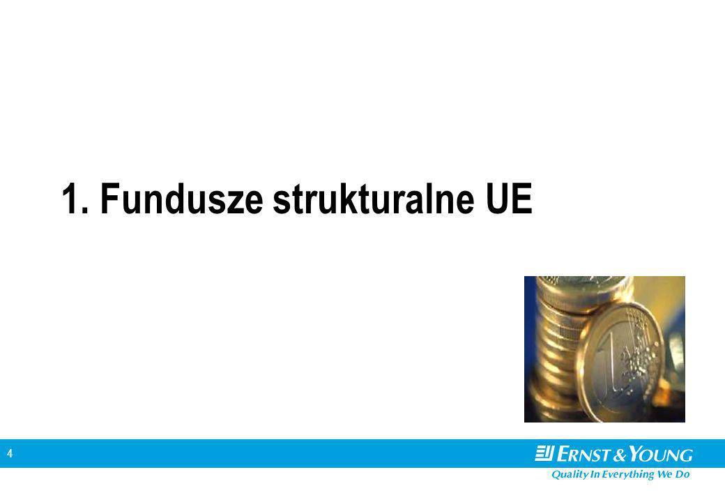 4 1. Fundusze strukturalne UE