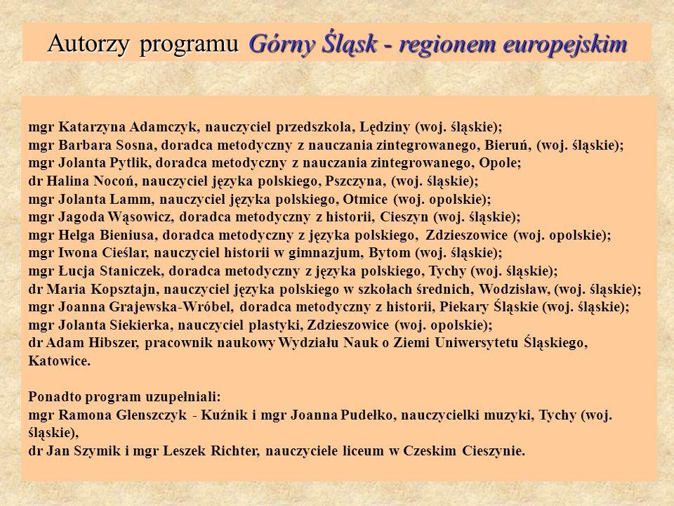 Gminy, które już zadeklarowały zakupienie programu dla swoich nauczycieli: Chorzów Piekary Śląskie Katowice Tychy Mysłowice Gliwice Wodzisław