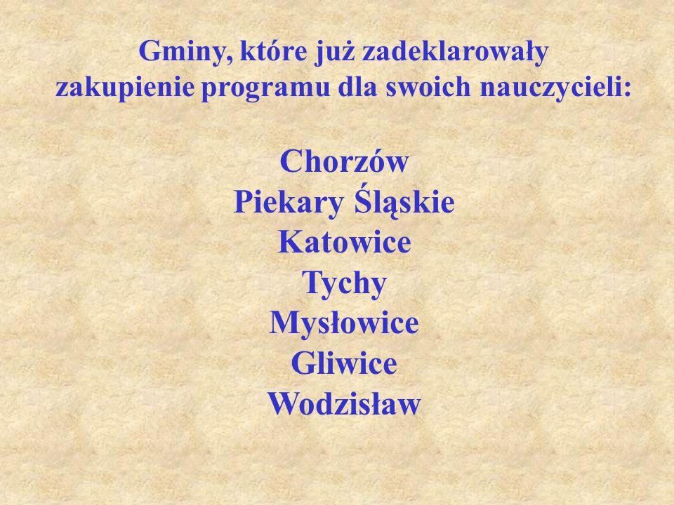 Program edukacji regionalnej Górny Śląsk - regionem europejskim jest pierwszą częścią przedsięwzięcia, w którym zaplanowano: 1.