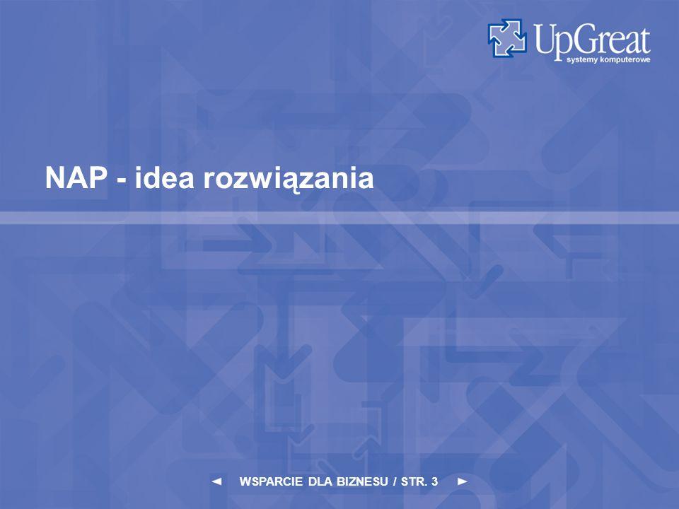 WSPARCIE DLA BIZNESU / STR. 3 NAP - idea rozwiązania