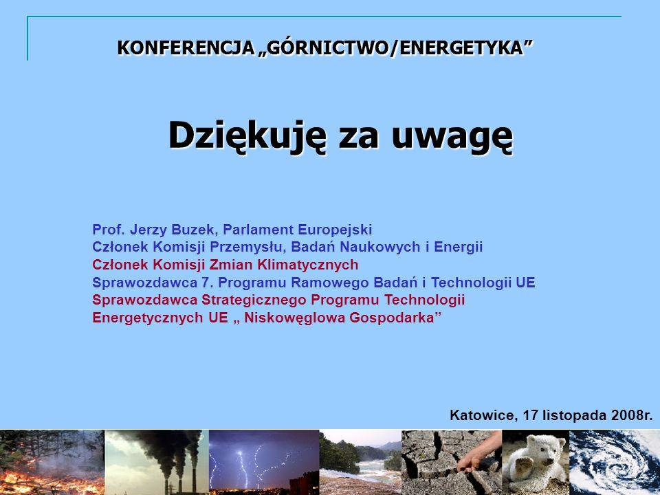 Katowice, 17 listopada 2008r.Dziękuję za uwagę Prof.
