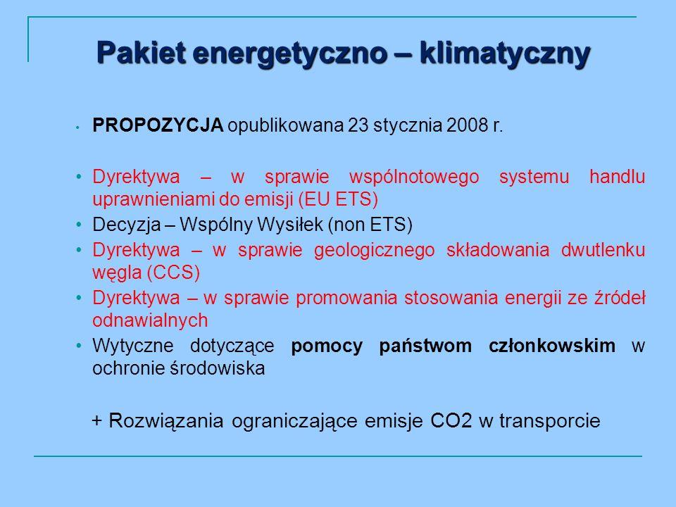 PROPOZYCJA opublikowana 23 stycznia 2008 r.