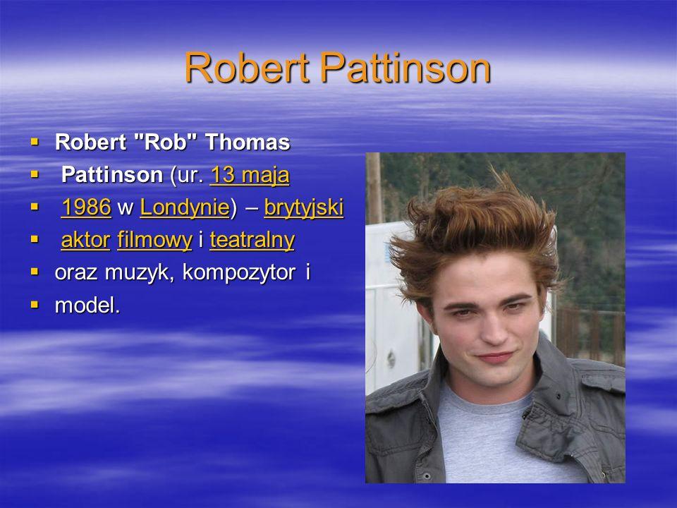 Robert Pattinson Robert