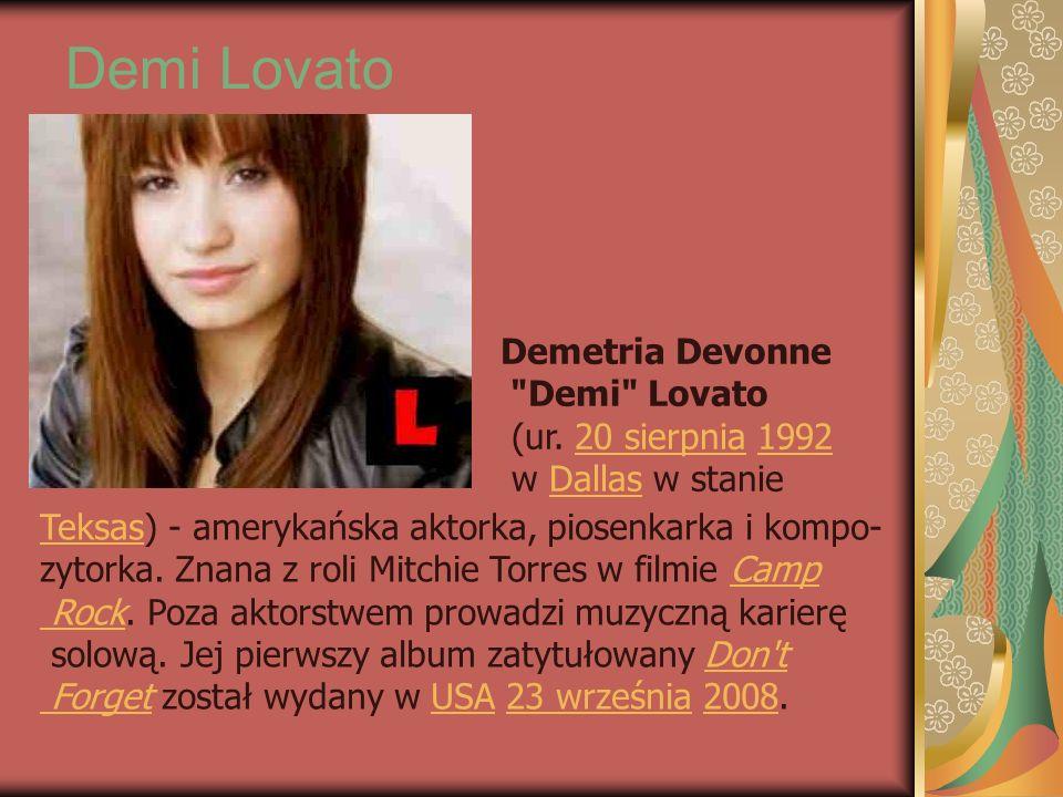 Demi Lovato Demetria Devonne