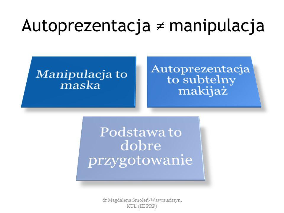 Na czym polega dobre przygotowanie? dr Magdalena Smoleń-Wawrzusiszyn, KUL (III PRP)