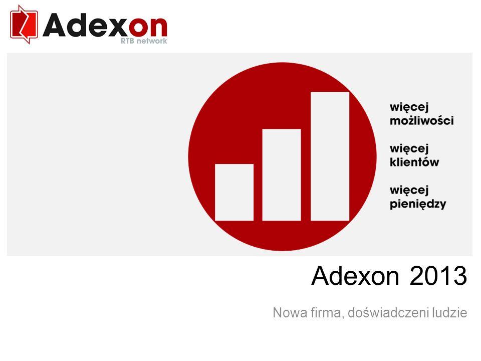 RTB network Adexon 2013 Nowa firma, doświadczeni ludzie