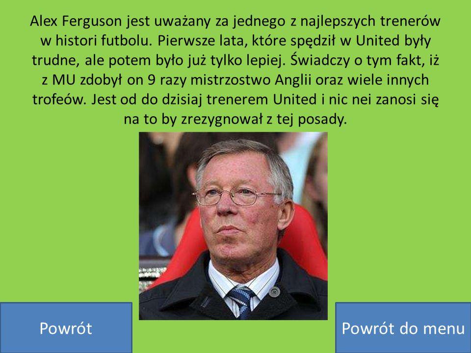 Alex Ferguson jest uważany za jednego z najlepszych trenerów w histori futbolu. Pierwsze lata, które spędził w United były trudne, ale potem było już
