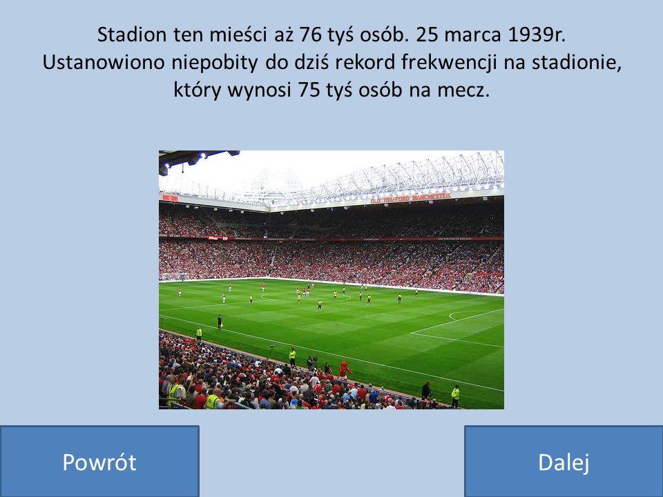 Stadion ten mieści aż 76 tyś osób. 25 marca 1939r. Ustanowiono niepobity do dziś rekord frekwencji na stadionie, który wynosi 75 tyś osób na mecz. Pow