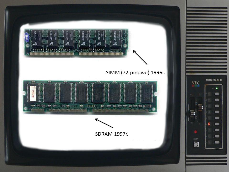 RIMM (Rambus) 1999r. DDR 1999r.