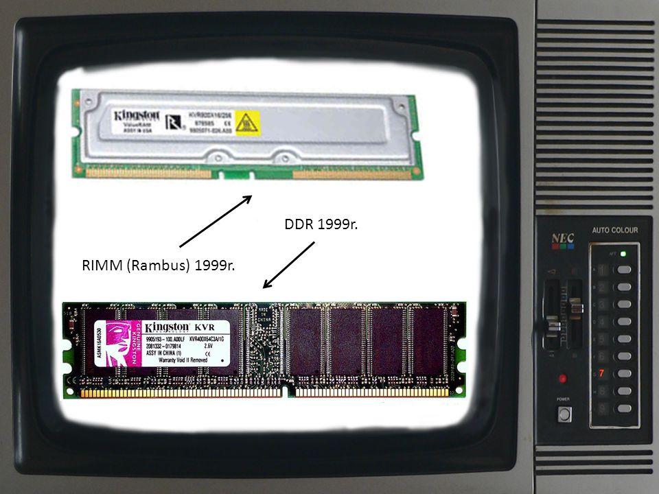 DDR 2003r. DDR3 2007r.