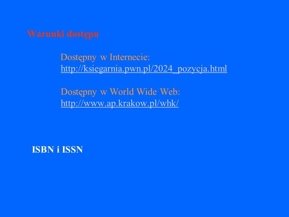 Częstotliwość publikacji zaleca się podawanie częstotliwości aktualizacji np.: aktualizacja tygodniowa aktualizacja roczna ciągle aktualizowany