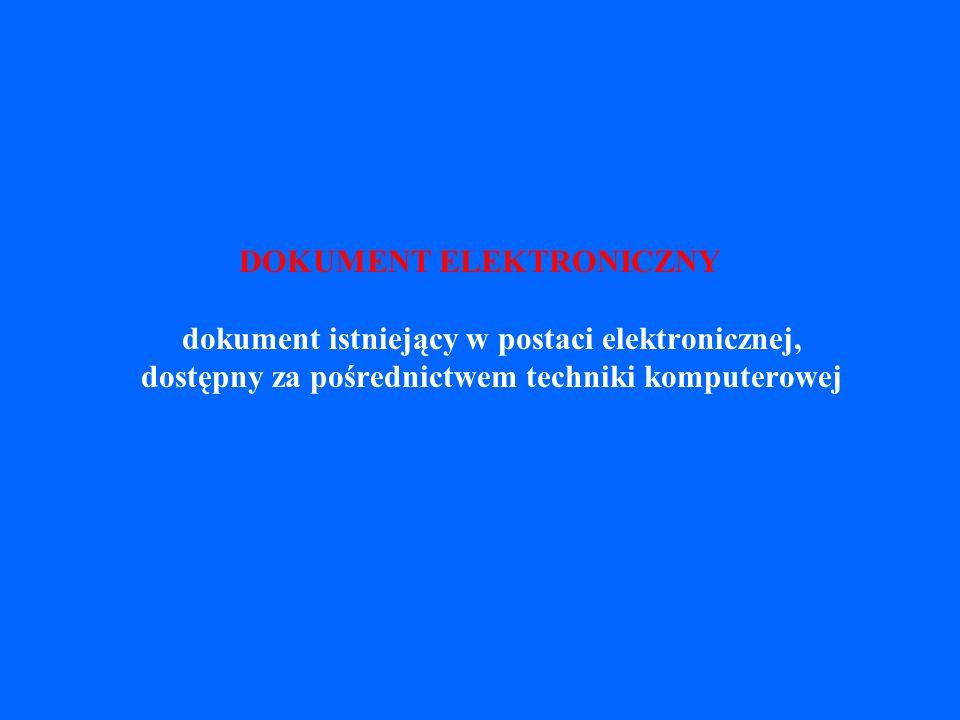 NORMA Norma PN-ISO 690-2: 1999 Informacja i dokumentacja.