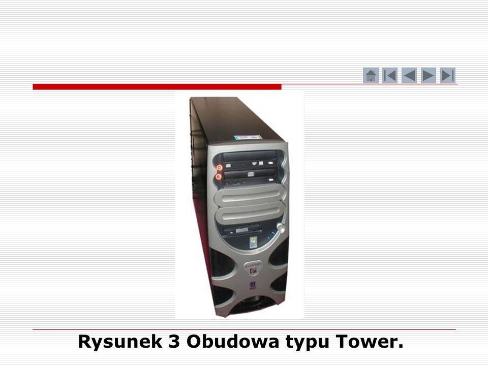 Rysunek 3 Obudowa typu Tower.