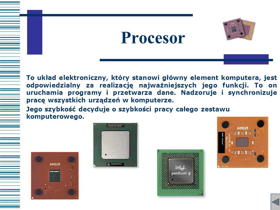 To układ elektroniczny, który stanowi główny element komputera, jest odpowiedzialny za realizację najważniejszych jego funkcji. To on uruchamia progra