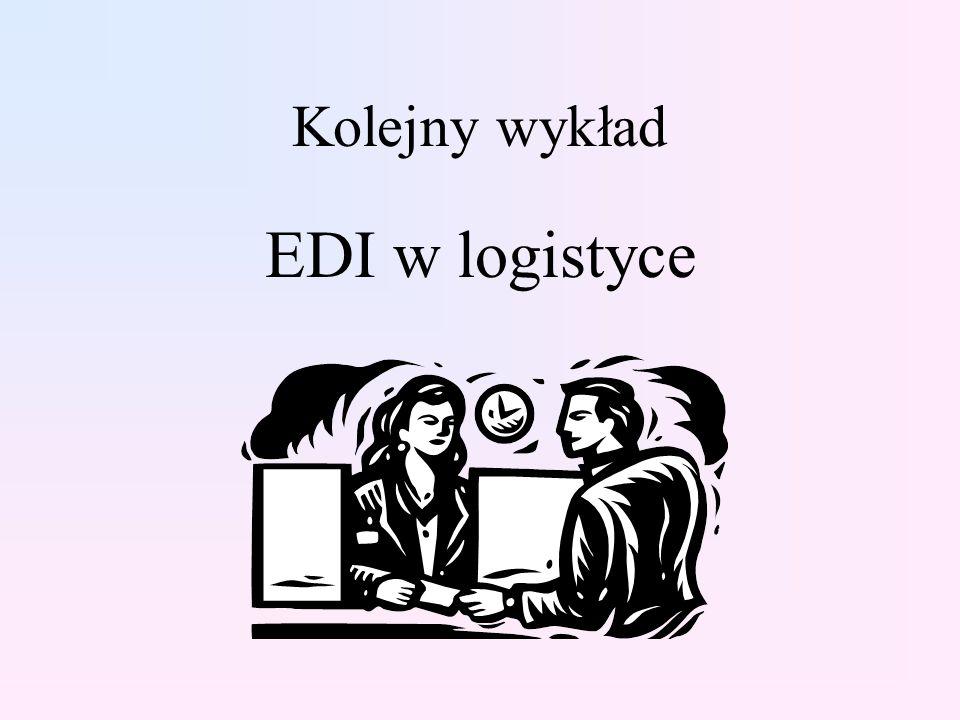 Kolejny wykład EDI w logistyce