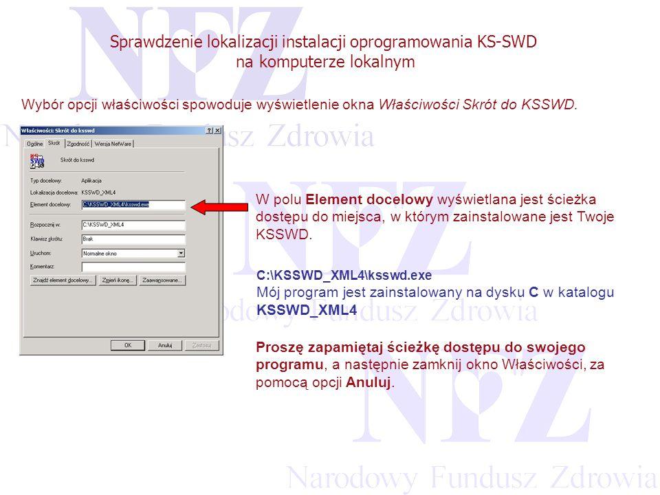 Przekraczamy bariery możliwości Sprawdzenie lokalizacji instalacji oprogramowania KS-SWD na komputerze lokalnym Teraz odszukaj na swoim dysku katalog z pobraną aktualizacją systemu lub włóż do napędu CD-ROM płytę zawierającą aktualizację.