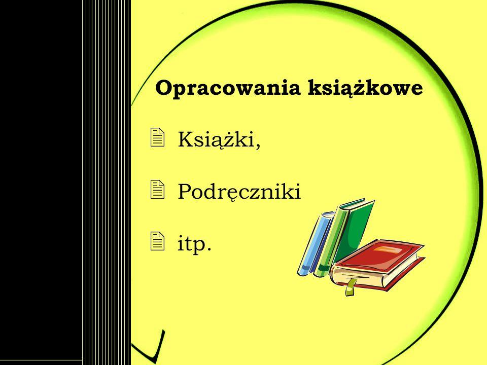 Opracowania książkowe Książki, Podręczniki itp.