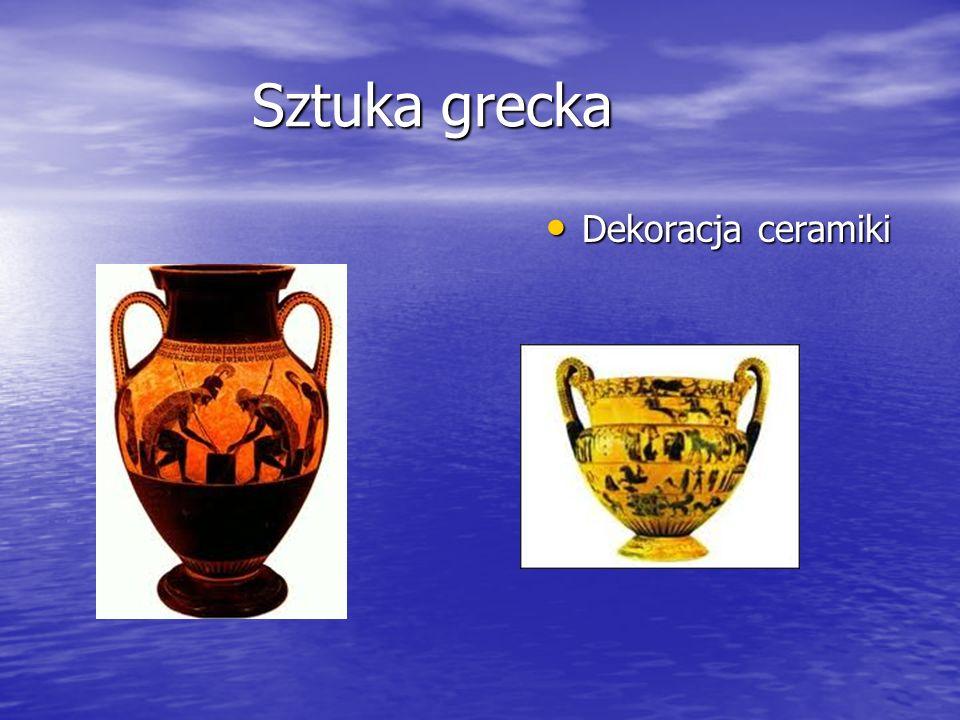 Sztuka grecka Dekoracja ceramiki Dekoracja ceramiki