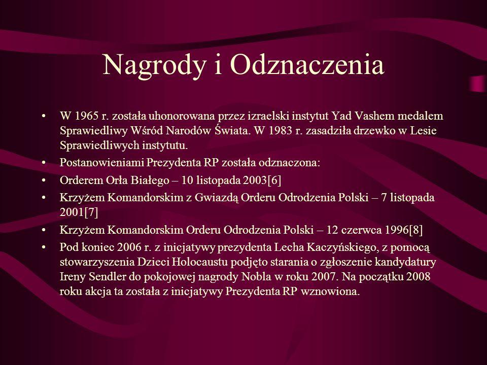 Nagrody i Odznaczenia W 1965 r.