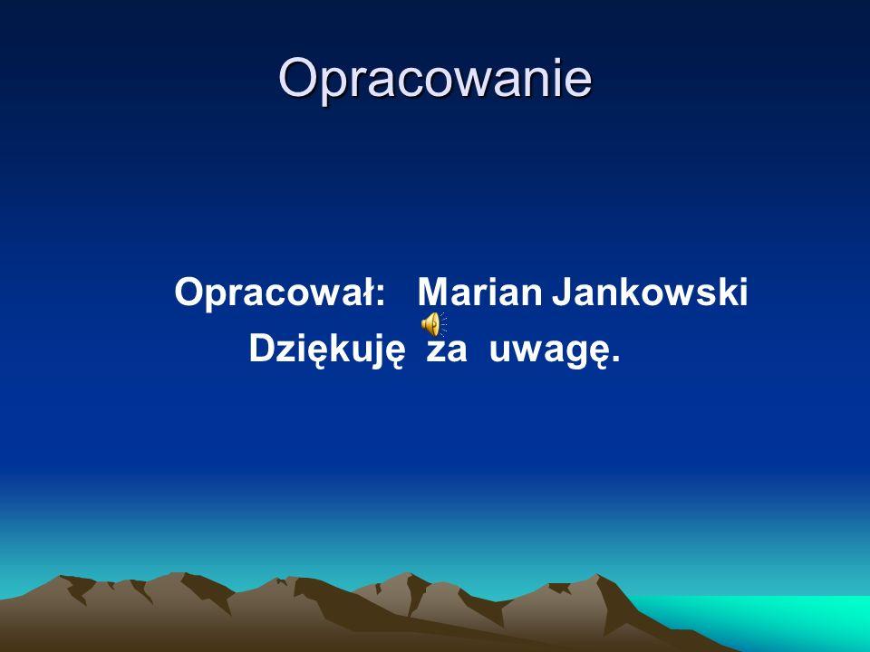 Dane kontaktowe Marian Jankowski Praca: I Liceum Ogólnokształcące im. KEN w Końskich – tel. 41 372 31 08 /wtorki,środy/. Email: martadjan@gmail.commar