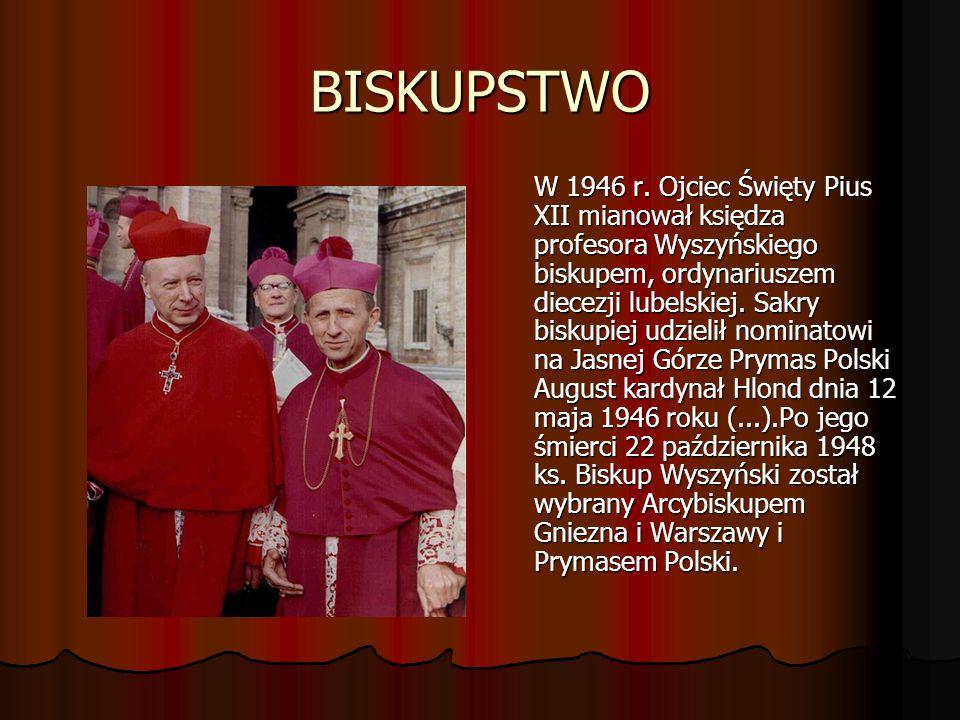 BISKUPSTWO W 1946 r.