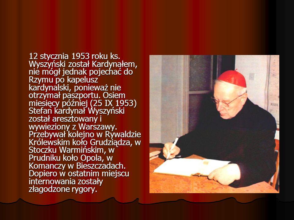 12 stycznia 1953 roku ks.