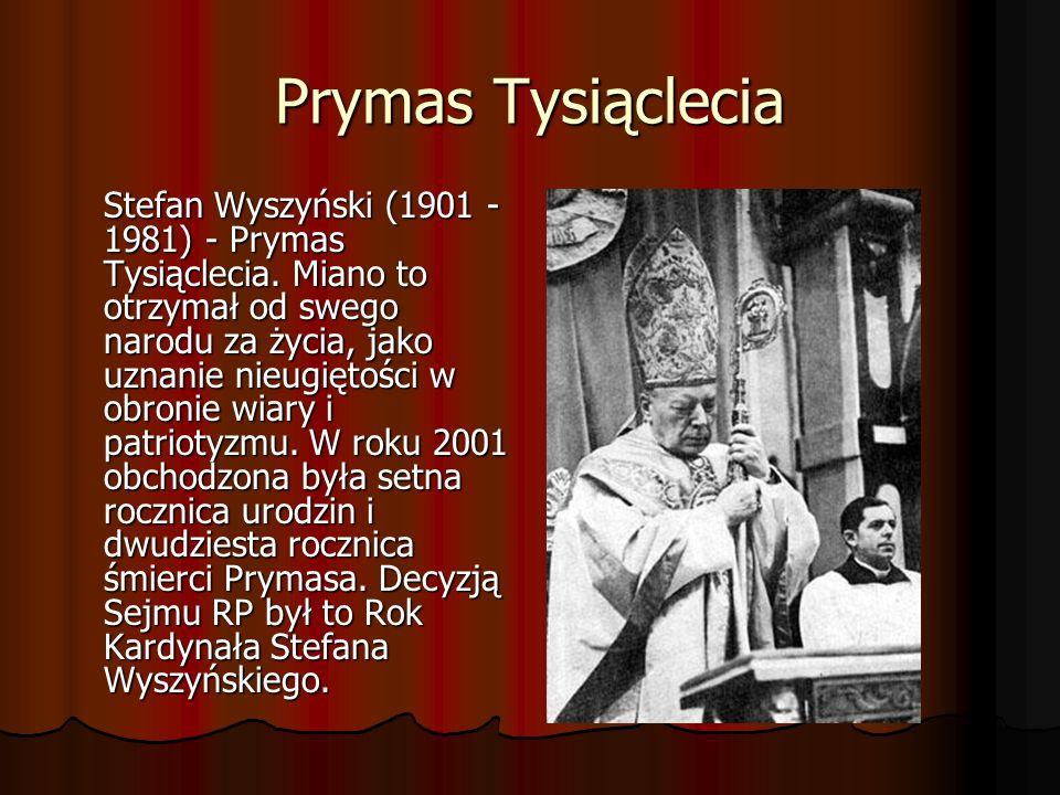 DZIECIŃSTWO Stefan Wyszyński urodził się w dniu 3 sierpnia 1901 r.