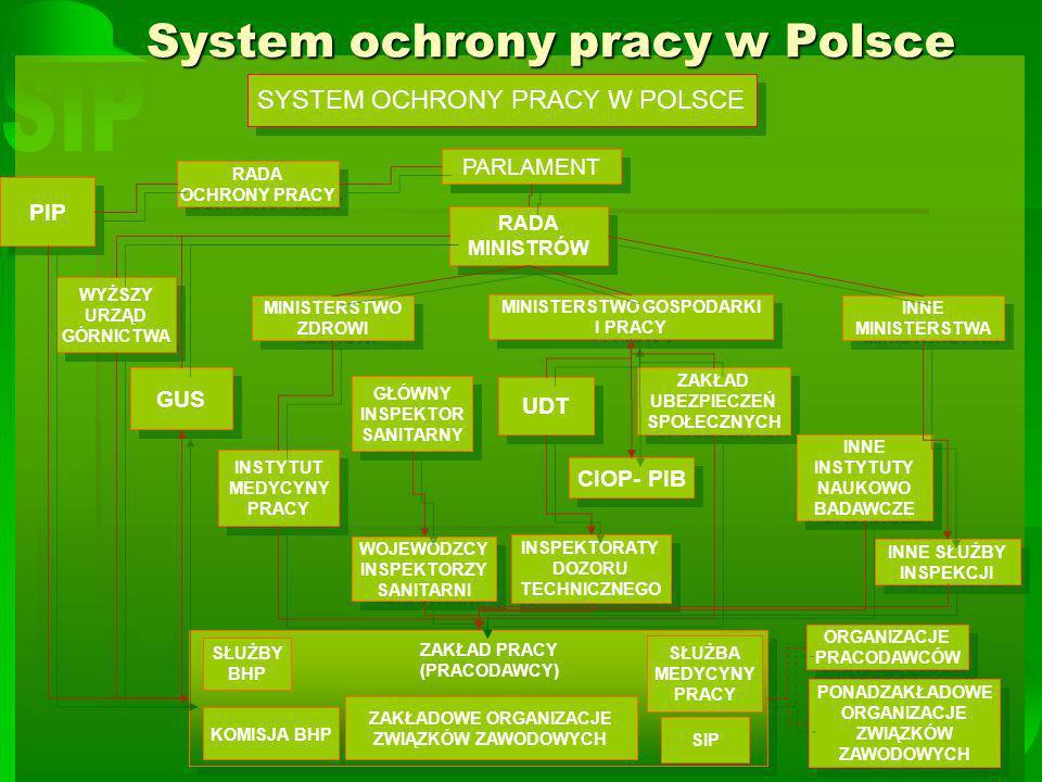 mgr Piotr Janczewski3 Państwowa Inspekcja Pracy Państwowa Inspekcja Pracy działa na podstawie przepisów ustawy z dnia 6 marca 1981 roku o Państwowej Inspekcji Pracy.