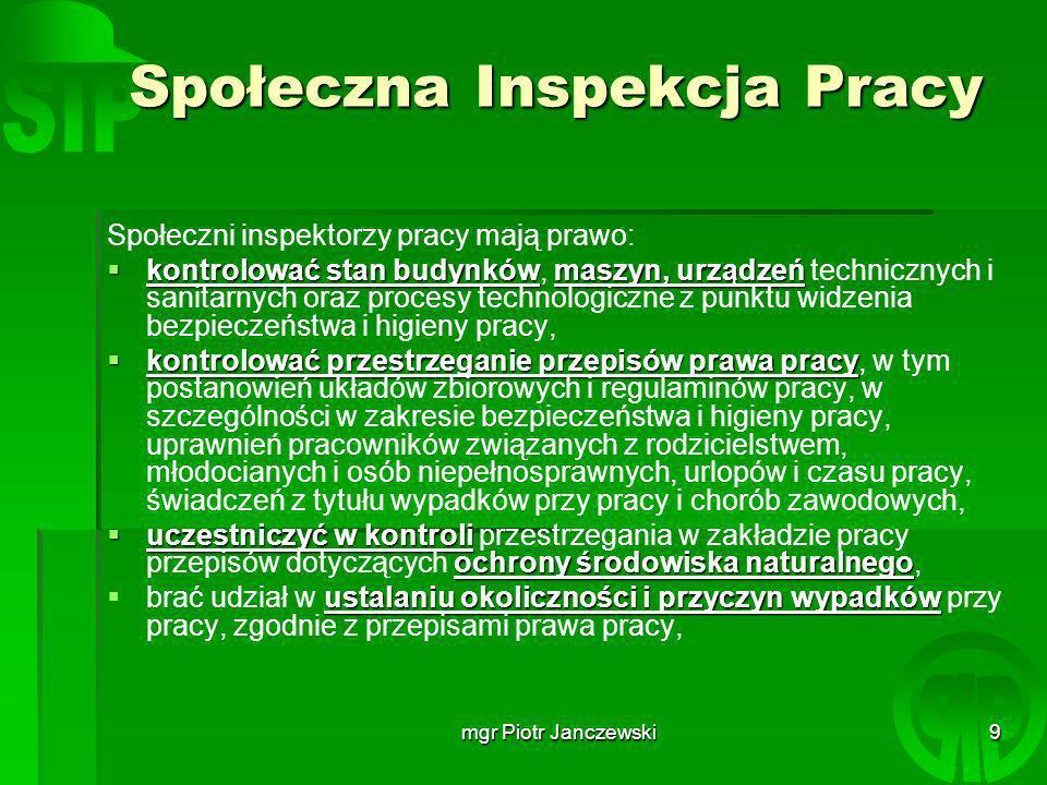mgr Piotr Janczewski20 KONIEC Opracował: mgr Piotr Janczewski janczewskip@wp.pl