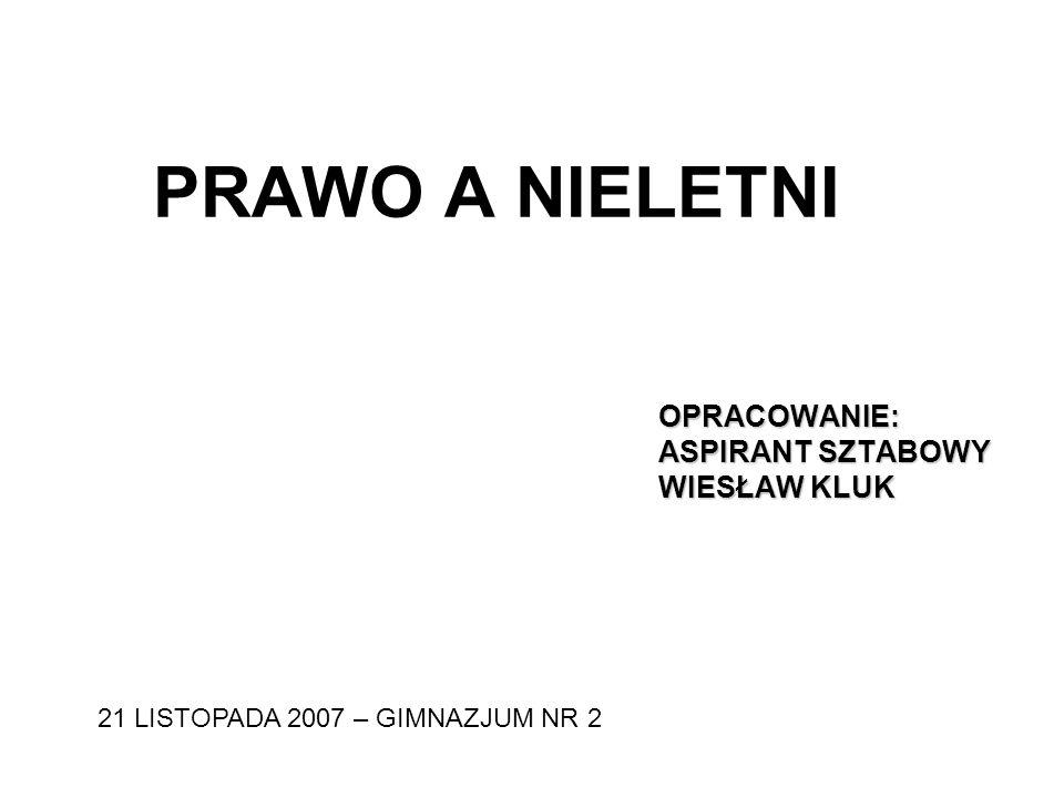 PRZESTĘPCZOŚĆ NIELETNICH… … na terenie powiatu mieleckiego w rozbiciu na wybrane, najczęściej występujące kategorie przestępstw, przedstawia się następująco: