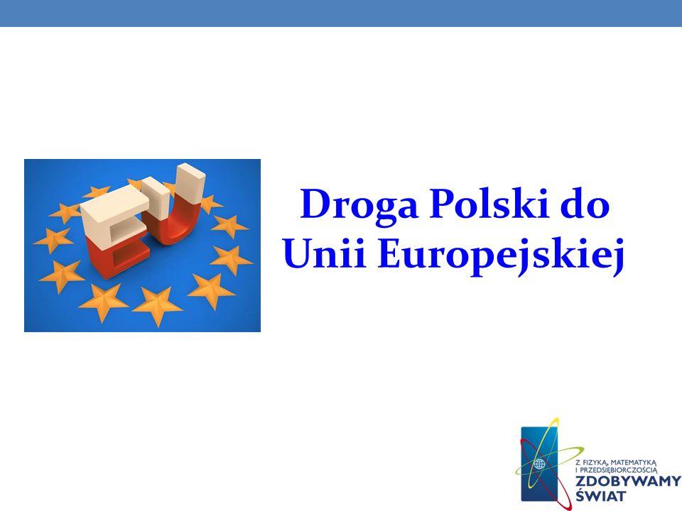 umowa między Polską a EWG w sprawie handlu i współpracy gospodarczej (19 września 1989 r.); utworzenie placówki ambasadora Rzeczypospolitej Polskiej przy Wspólnotach Europejskich w Brukseli (26 lutego 1990 r.); powołanie Pełnomocnika do Spraw Integracji Europejskiej oraz (26 stycznia 1991r.); przyjęcie Polski do Rady Europy (26 listopada 1991 r.);