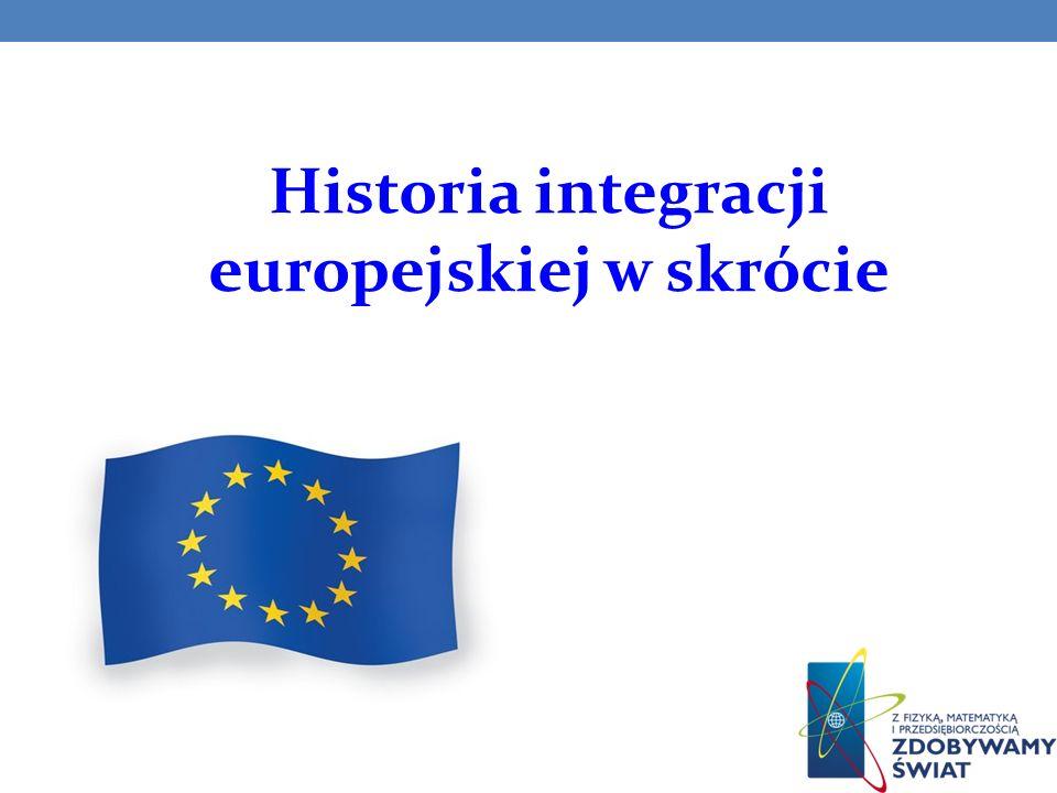 Traktat paryski (8 kwietnia 1951) - Europejska Wsp ó lnota Węgla i Stali (EWWiS).
