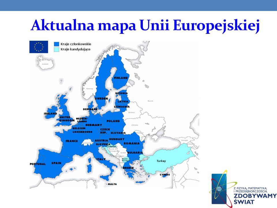 Zasady działania Unii Europejskiej Unia Gospodarcza i Walutowa - rynek wewnętrzny oraz wspólna waluta uro, Wspólna Polityka Zagraniczna i Bezpieczeństwa, Polityka Sprawiedliwości i Spraw Wewnętrznych, Wspólna Polityka Obronna.
