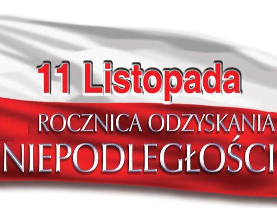 Źródła (zaczerpnięte z ): Tekst: http://pl.wikipedia.org/wiki/Narodowe_Święto_Niepodległości http://pl.wikipedia.org/wiki/Józef_Piłsudski http://pl.wikipedia.org/wiki/Ignacy_Jan_Paderewski Filmiki: http://www.youtube.com/results?search_query=11+listopada+1918+r.