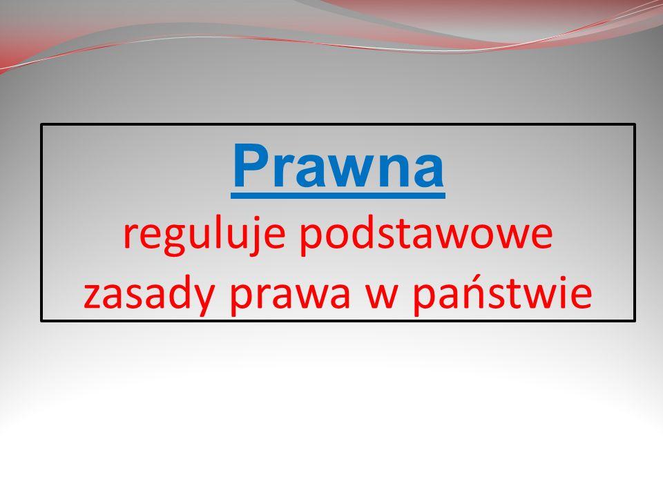 Konstytucja Rzeczpospolitej Polskiej z 23 kwietnia 1935r.(tzw. konstytucja kwietniowa).