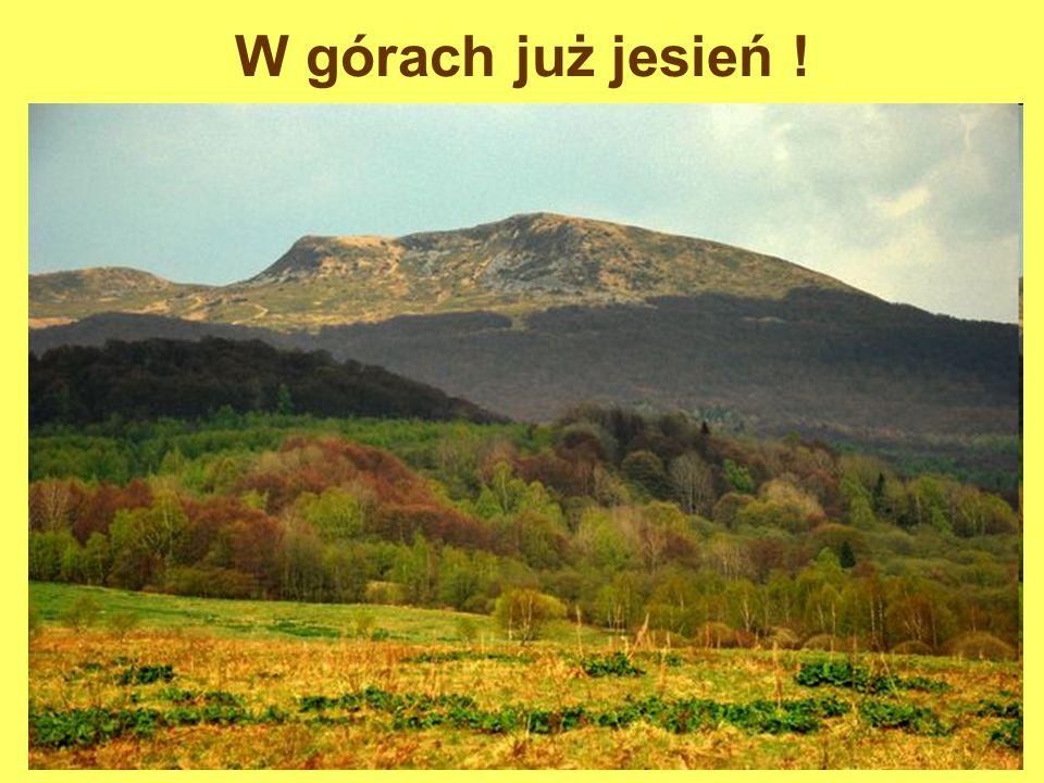 W górach już jesień !