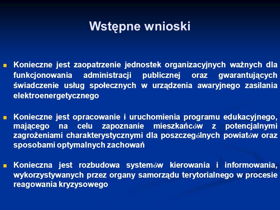 Konieczne jest zaopatrzenie jednostek organizacyjnych ważnych dla funkcjonowania administracji publicznej oraz gwarantujących świadczenie usług społec