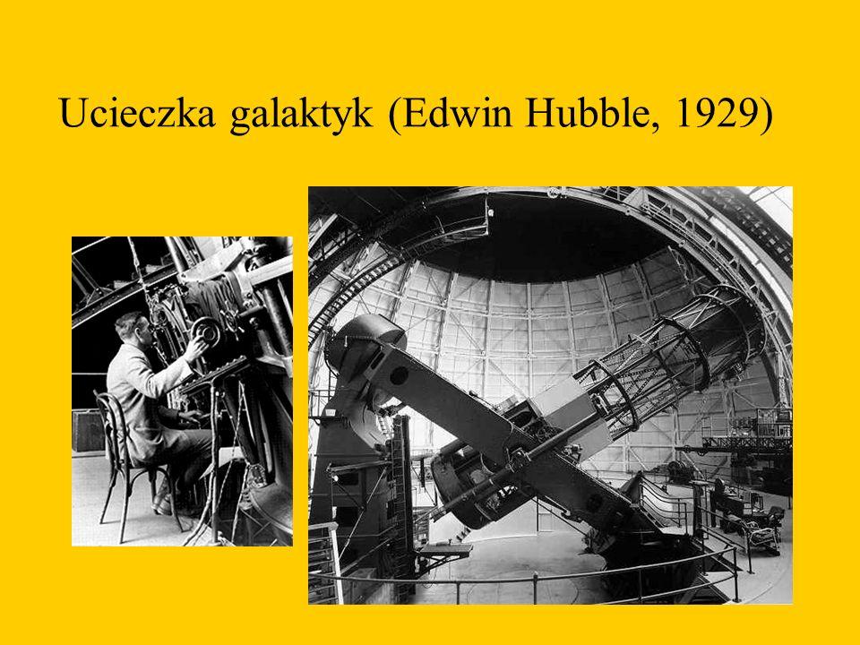 Ucieczka galaktyk (Edwin Hubble, 1929)