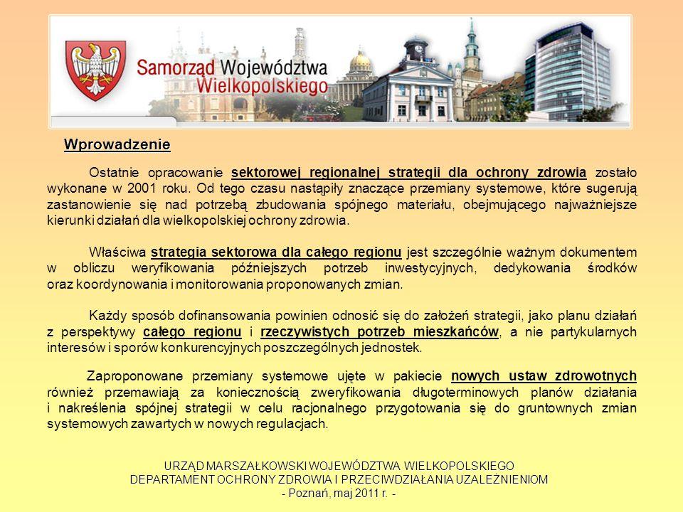 URZĄD MARSZAŁKOWSKI WOJEWÓDZTWA WIELKOPOLSKIEGO DEPARTAMENT OCHRONY ZDROWIA I PRZECIWDZIAŁANIA UZALEŻNIENIOM - Poznań, maj 2011 r. - Wprowadzenie Osta