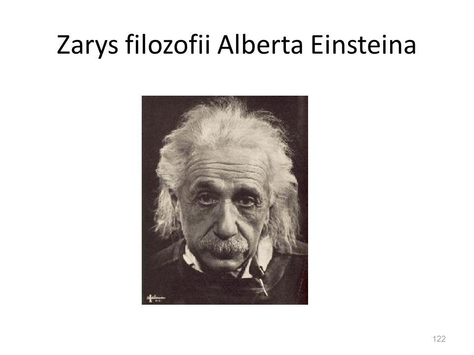 Zarys filozofii Alberta Einsteina 122