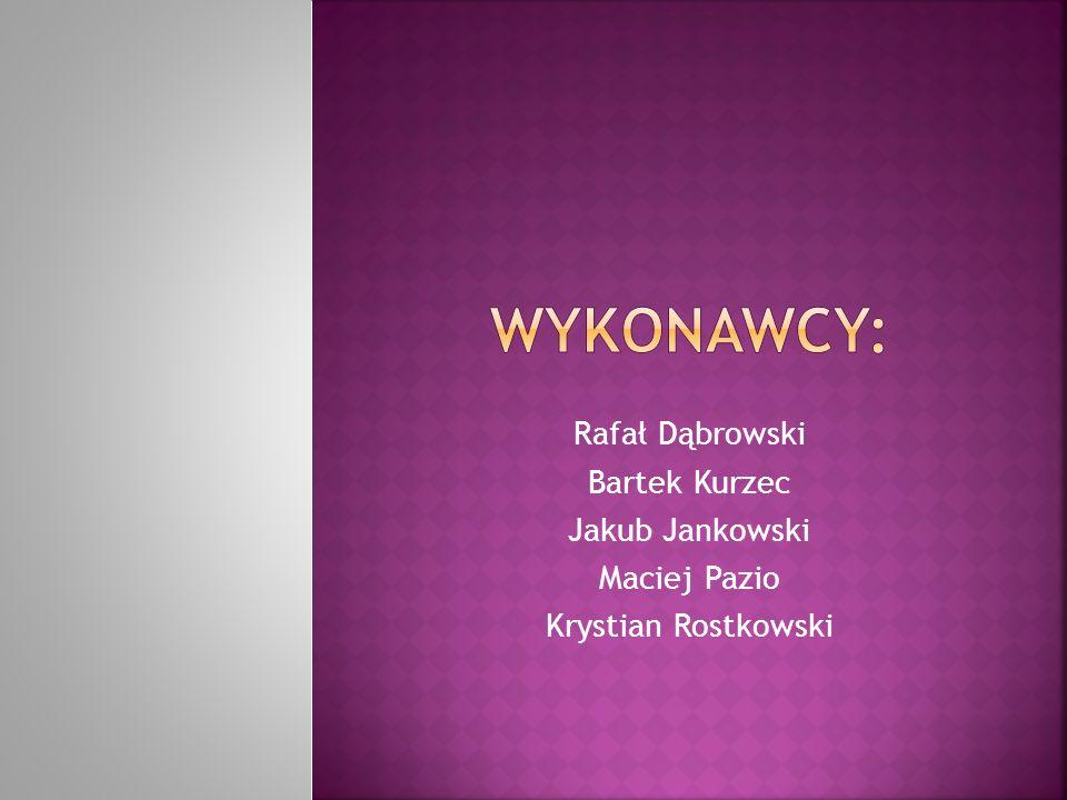 Rafał Dąbrowski Bartek Kurzec Jakub Jankowski Maciej Pazio Krystian Rostkowski