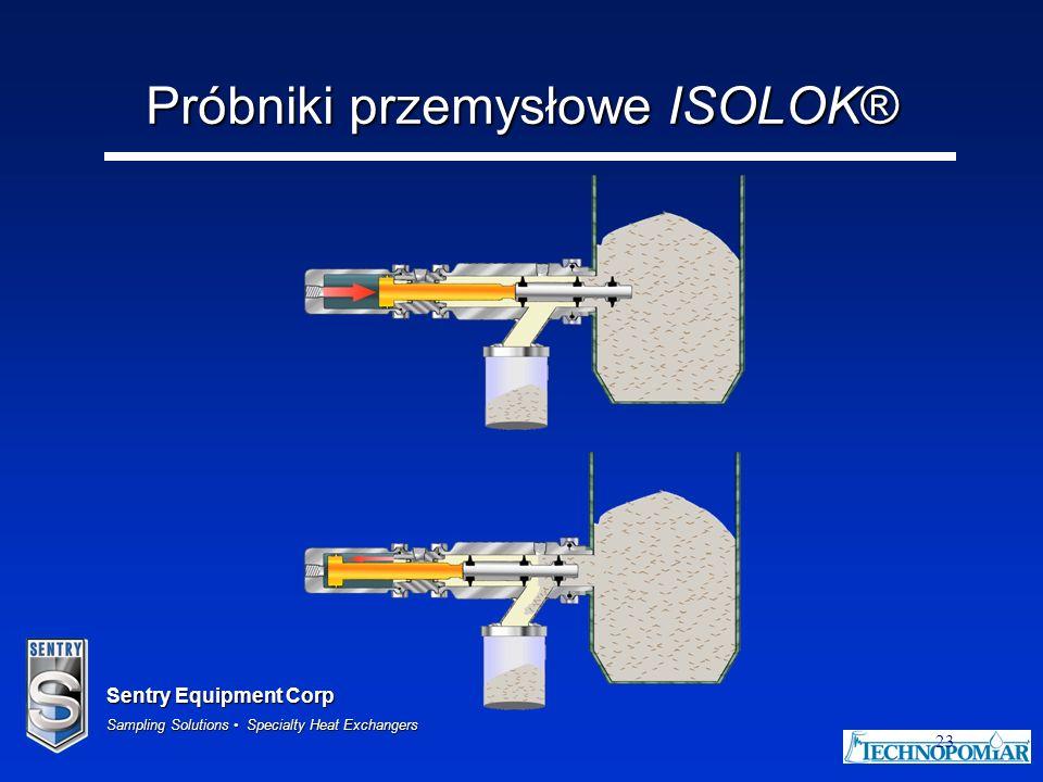 Sentry Equipment Corp Sampling Solutions Specialty Heat Exchangers 23 Próbniki przemysłowe ISOLOK®