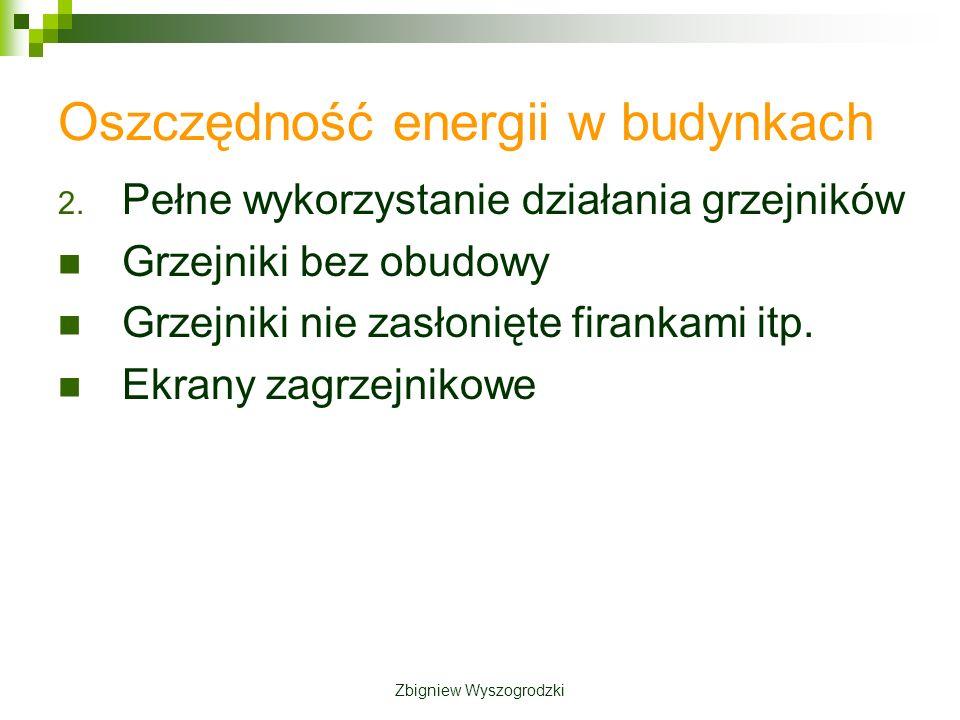 Oszczędność energii w budynkach 2.
