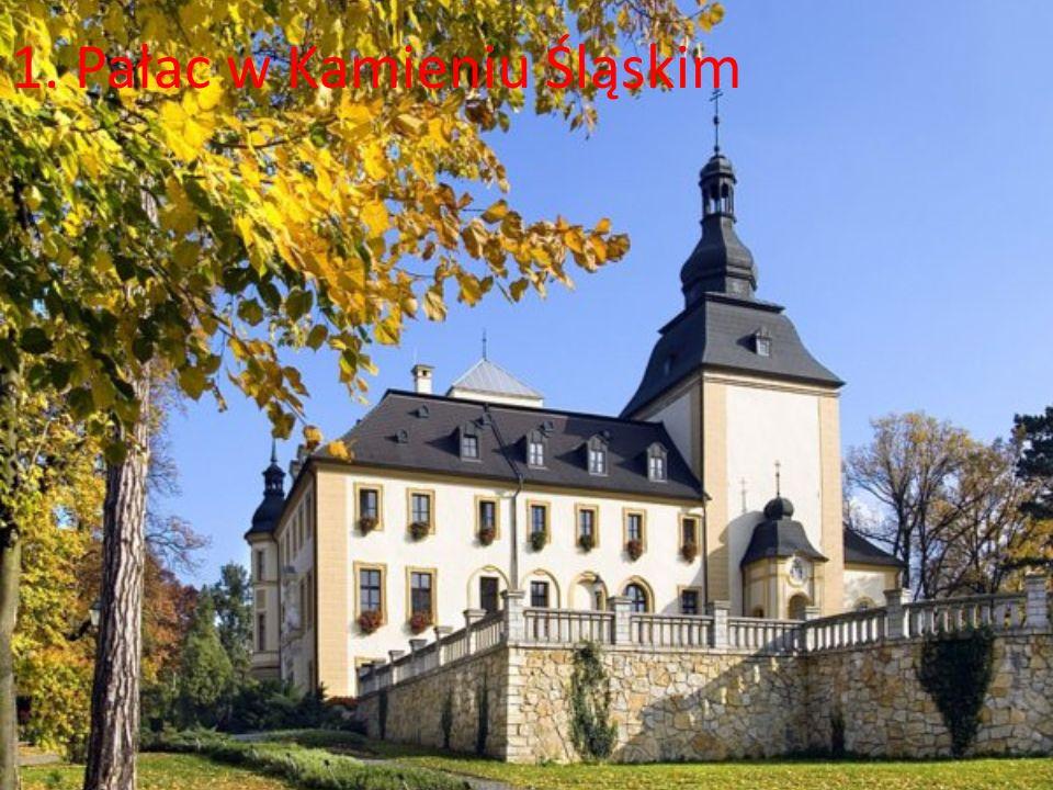 1. Pałac w Kamieniu Śląskim